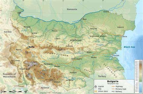 geography  bulgaria wikipedia