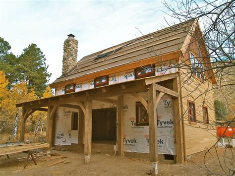 Southern Cottage Floor Plans by Brewster Timber Frame Colorado Custom Timber Frame Builder
