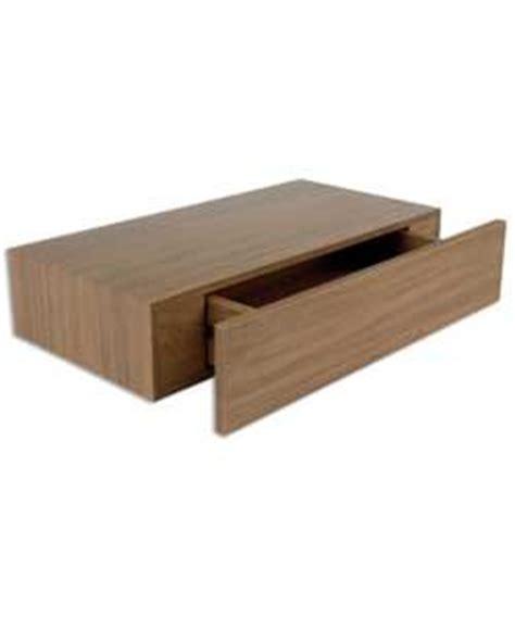 Floating Drawers Uk by Floating Drawer Shelf Walnut 10x50x25cm Co Uk