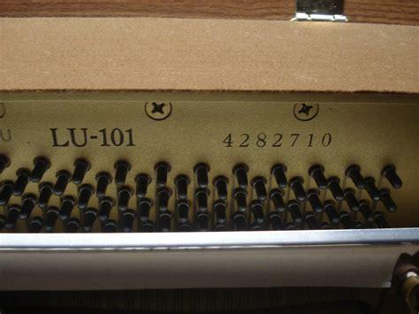 Lu Yamaha Yl pianoforte verticale yamaha lu 101 171 pianostore
