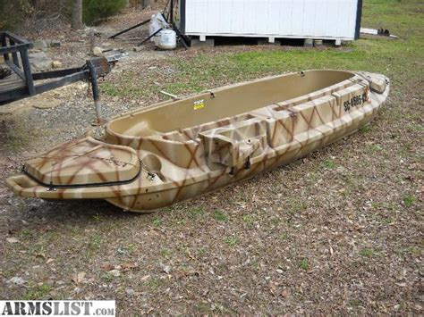 stealth 2000 duck boat motor mount armslist for sale trade stealth 1200 duck hunting