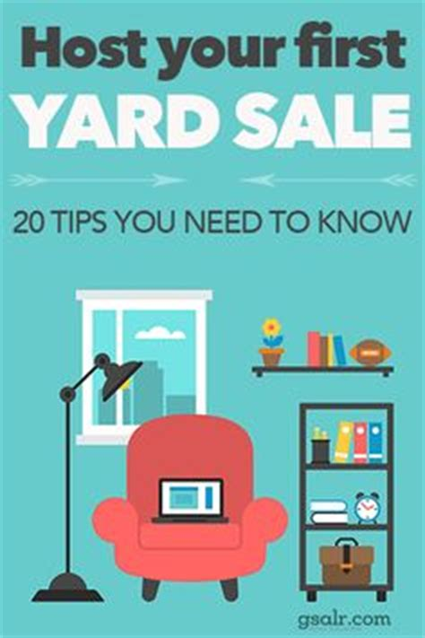 1000 ideas about garage sale tips on yard