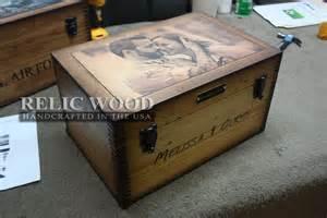 wedding anniversary keepsake box custom gift