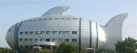 shaped buildings file fish shaped building jpg