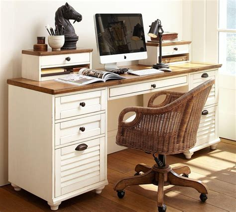 rectangular desk pottery barn au