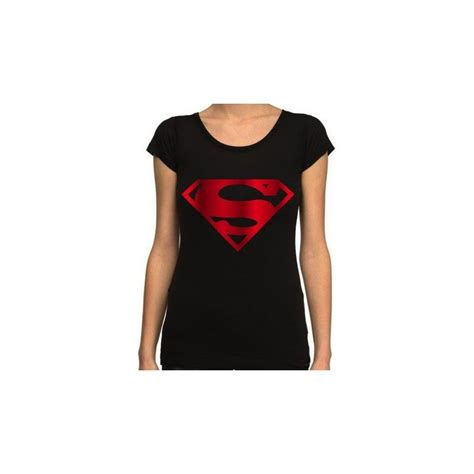 Tshirt Metal Logo t shirt femme superman metal logo