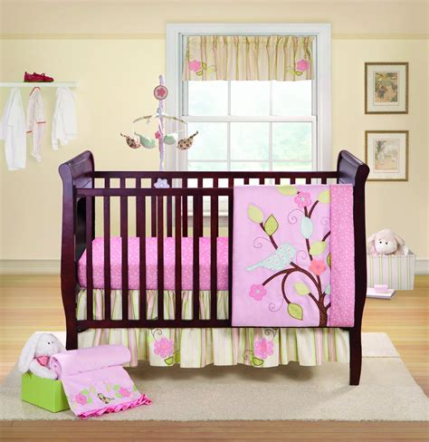 bananafish love bird crib bedding and decor baby bedding