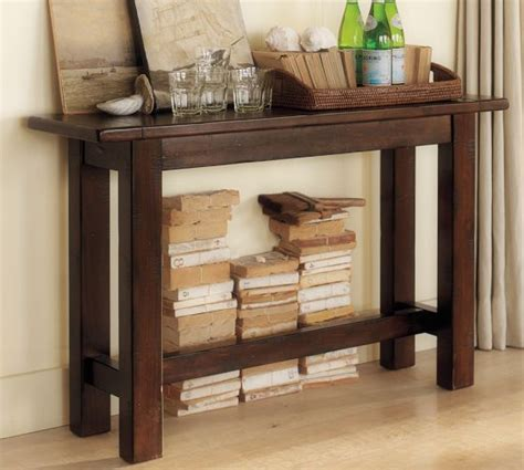 sofa table pottery barn hyde console table pottery barn for the home pinterest