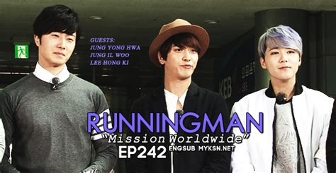dramacool fever running man episode 242 hallyu race quot mission worldwide