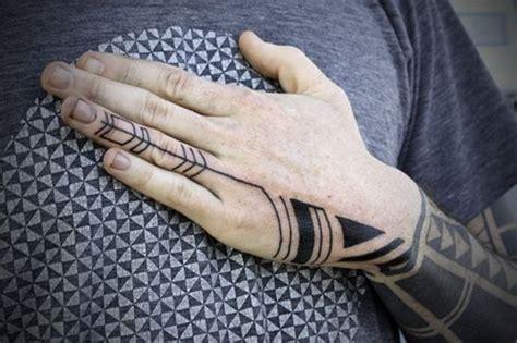geometric hand tattoo geometric and pattern tattoos inspiring tattoos