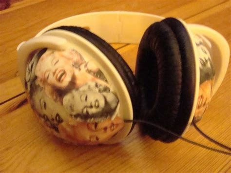 Decorated Earbuds by Headphone 183 How To Decorate Headphones 183 Photography