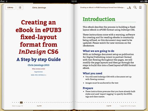 ebook format design pagetoscreen ebook creating an ebook in epub3 fixed