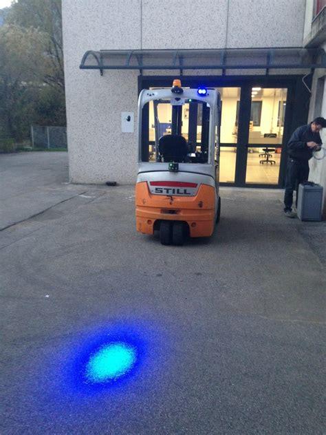 blue warning lights on forklifts 6w 110v led blue light forklift safety light tpbl6w