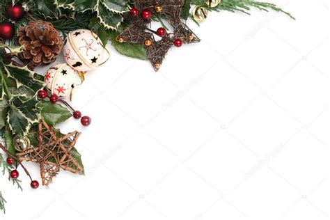 cornici natalizie da stare jingle bell and frame stock photo