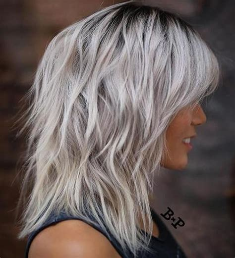 shag cuts for grey hair 22 cool shag hairstyles for fine hair 2018 2019