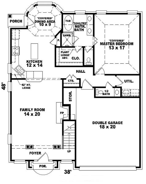 decker traditional home plan 087d 0295 house plans and more