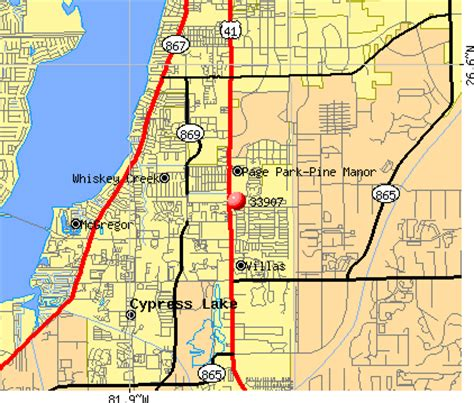 ft co zip code fort myers map with zip codes images