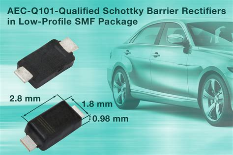 automotive schottky diode vishay new smd schottky barrier rectifiers save space in automotive and commercial applications
