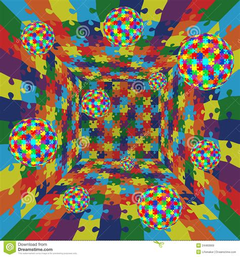 abstract jigsaw pattern 3d abstract vector color puzzle jigsaw pattern bac stock