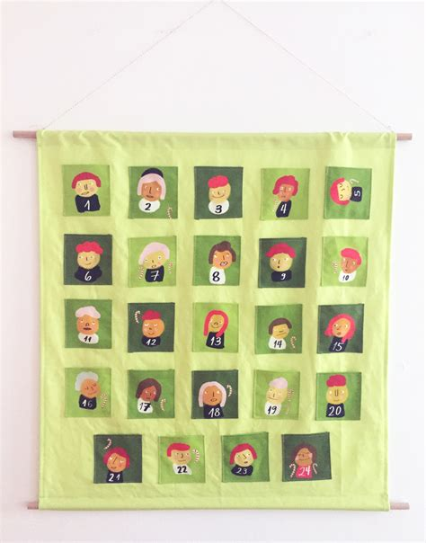 make your own fabric advent calendar learn to make your own cut and sew advent calender