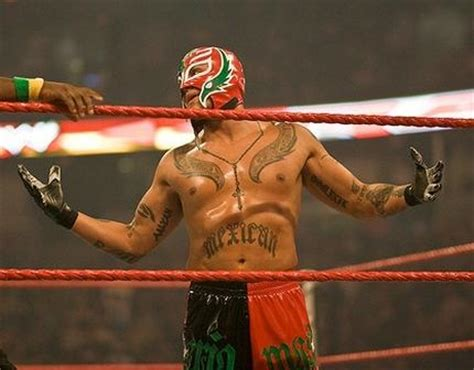 rey mysterio back tattoo wings on chest