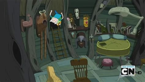 Finn And Jake S Living Room Image Weapon Room 2 Jpg Adventure Time Wiki Fandom