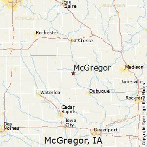 best places to live in mcgregor iowa