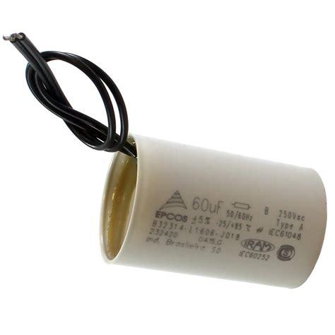 capacitor de motor tem polaridade capacitor partida de motor 60mf x 250v eletrope 231 as comercial eletr 244 nica ltda