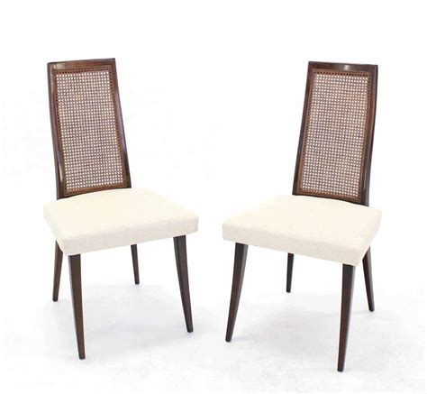 Harveys Dining Chairs Set Of Six Harvey Probber Dining Chairs New Linen Upholstery At 1stdibs