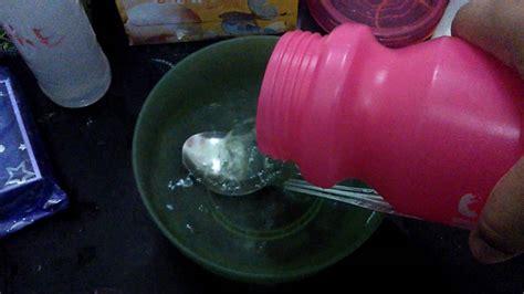bahan membuat slime activator cara membuat slime activator dgn menggunakan 2 bahan