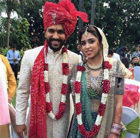 PHOTOS: Rohit Sharma ties the knot with Ritika Sajdeh