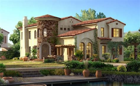 Spanish Style House by Spanish Style House Plans Exotic Design