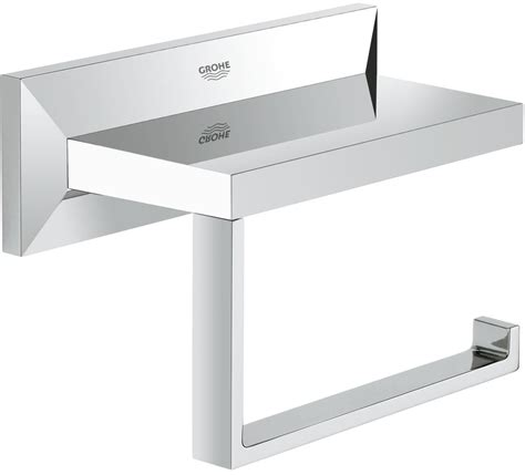 grohe toilette grohe brilliant toilet roll holder 40499 40499000
