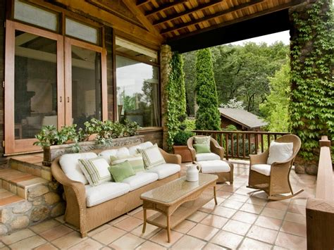 Front Porch Patio Set Design Tips For The Front Porch Hgtv