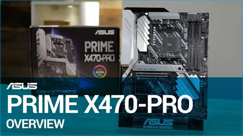 asus prime x470 pro motherboard overview