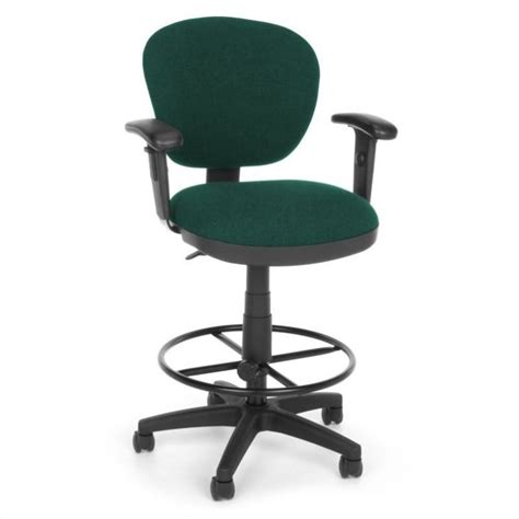 Teal Computer Chair by Lite Use Computer Drafting Office Chair With Arms And