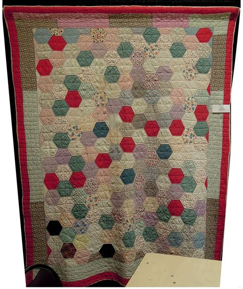 Hexagon Quilt by Quilt Inspiration Vintage Hexagon Quilts