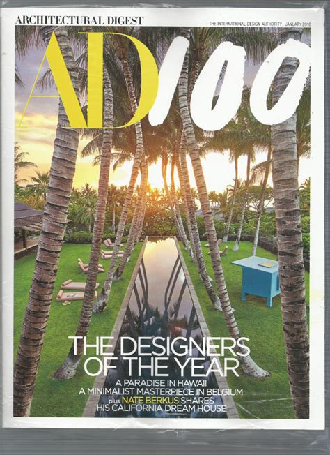 celebrities favorite ad100 designers and architects ad100 2018 presenting this year s architectural digest s