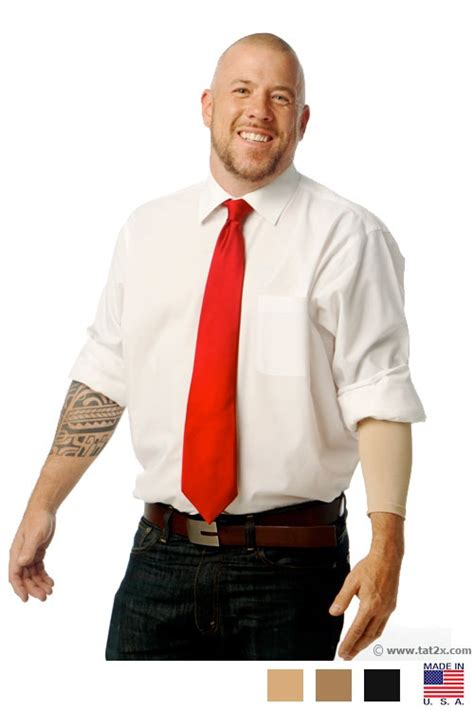 how to cover tattoos for work 49 best tat2x inkarmor cover sleeves images on