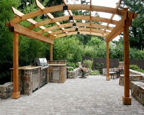 outdoor cooking area plans outdoor kitchen sherwood or photo gallery