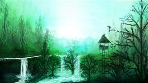 calming green calm green forest by aperson4321 on deviantart