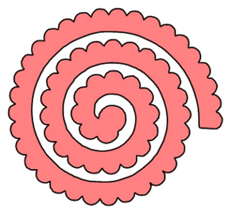 paper this and that two rolled flower svg files
