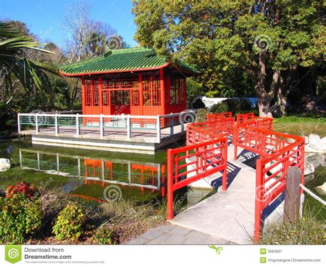 New China Garden by Garden Stock Image Image 3564921