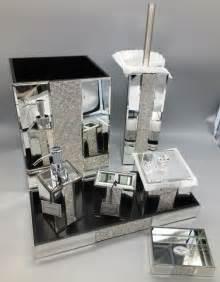 rhinestone bathroom accessories luxury 7 in stock