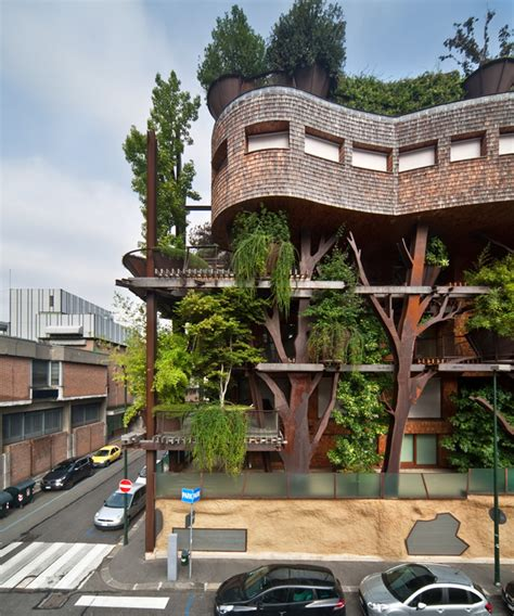 gallery home design torino luciano pia plants 25 verde a green urban treehouse in torino