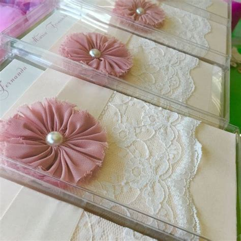Handmade Quinceanera Invitations - sweet sixteen quinceanera invitation embossed
