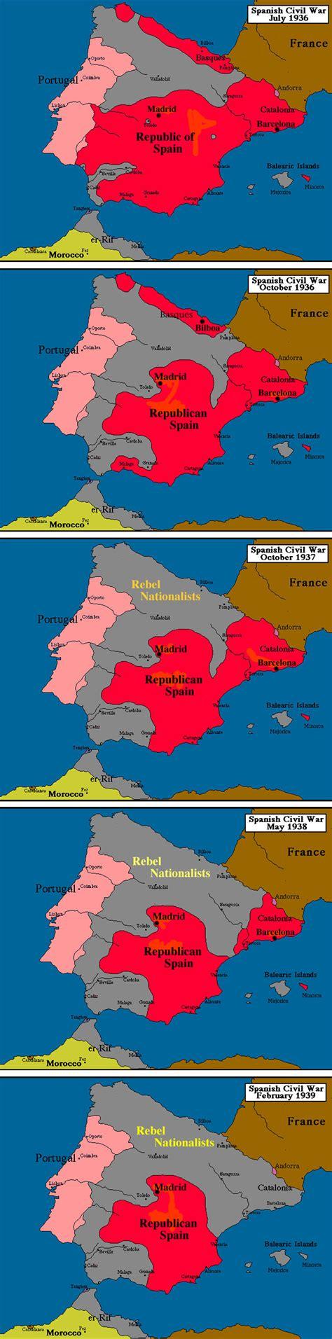 the spanish civil war 1782007822 spanish civil war maps 1936 1939 war spanish civil war 1936 1939 civil wars
