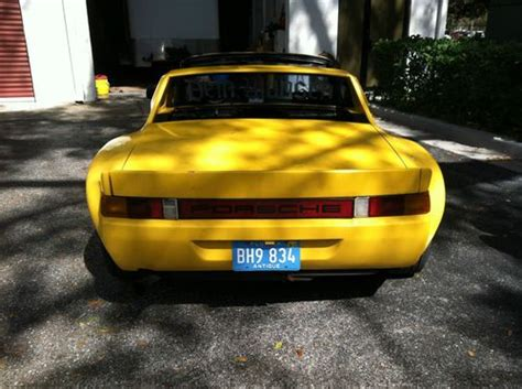 porsche 914 modified sell used porsche 914 tastefully modified in rumson