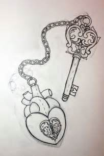heart and key tattoos for couples and key designs for couples jpg 730 215 1095