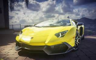 Yellow Lamborghini Images Yellow Lamborghini Aventador Car Wallpapers New Hd